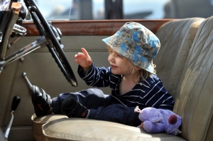 A steering wheel is about the only thing a Bentley and Daddy's car have in common.