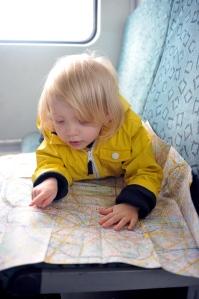 Organising the itinerary.